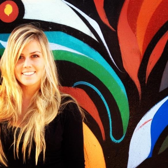 graffiti art girl san francisco street art