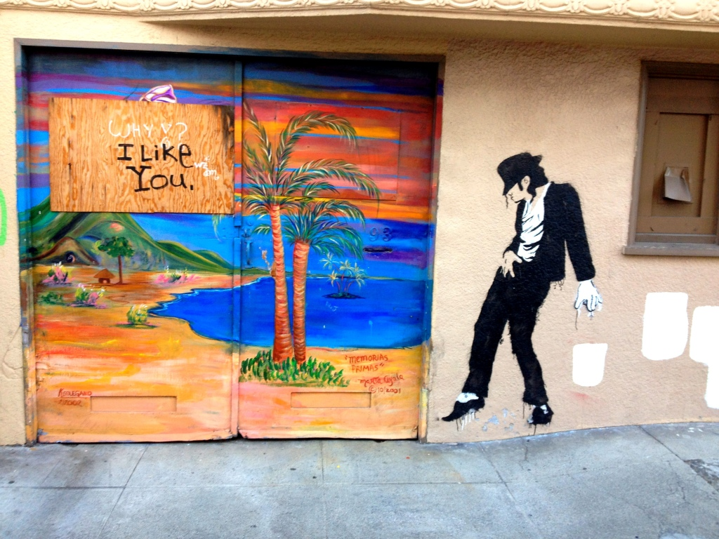 San Francisco Street Art Michael Jackson