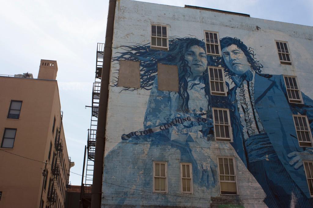 People mural buildings los angeles