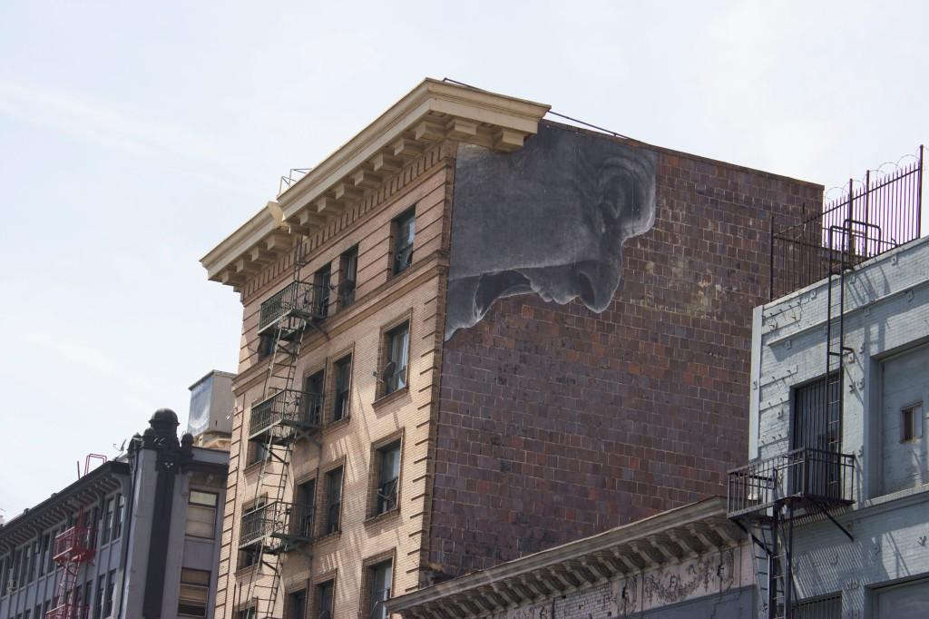 Screaming Mural Downtown Los Angeles