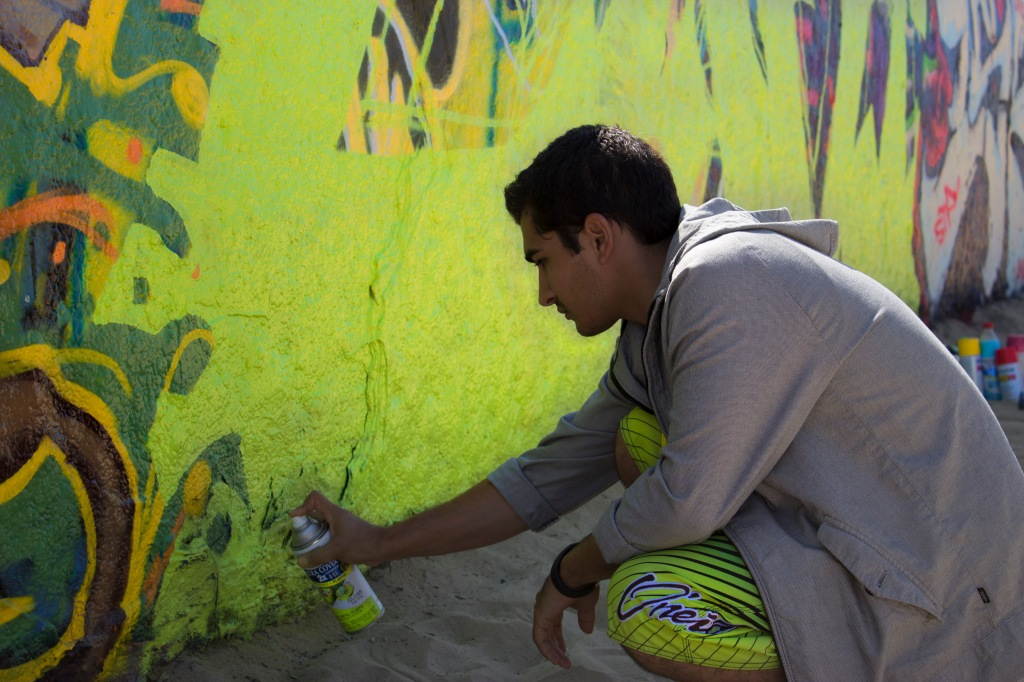 Neon Spraypaint Venice Art Walls