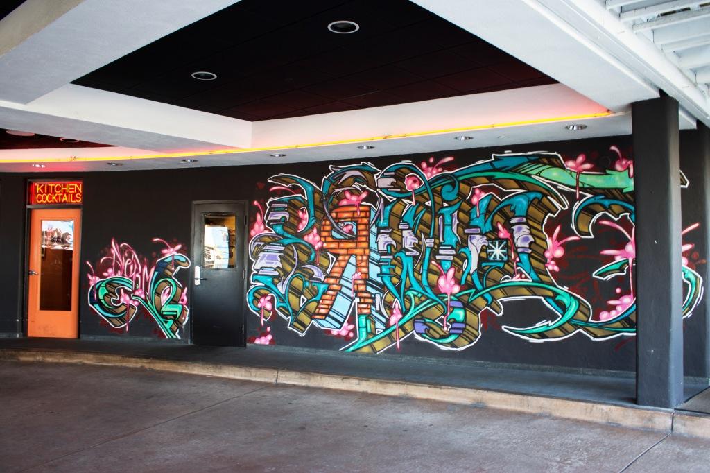 Neon Graffiti Art Venice Beach