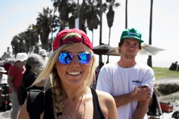 Girl Venice Beach