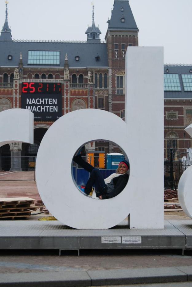 Chantae inside D of I am Amsterdam