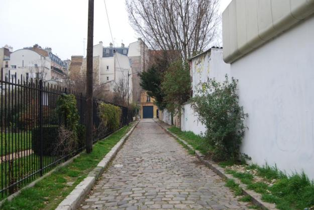 Paris Alleyway