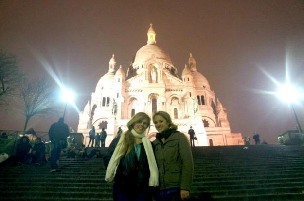 Lauren and I outside of the Basilica