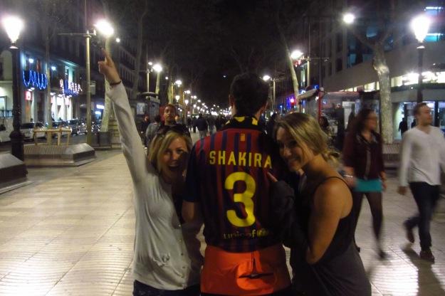 Mr. Shakira! FC Barcelona