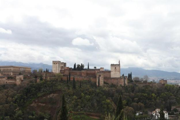 The Alhambra captured by Lauren