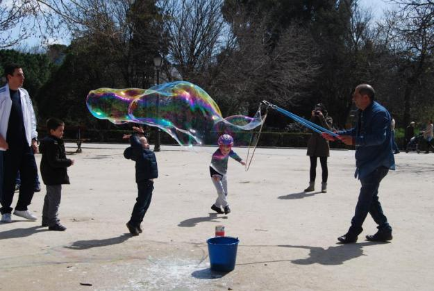 Bubble Parque Retiro