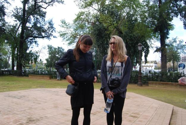 Lauren and our tour guide, Elsa.