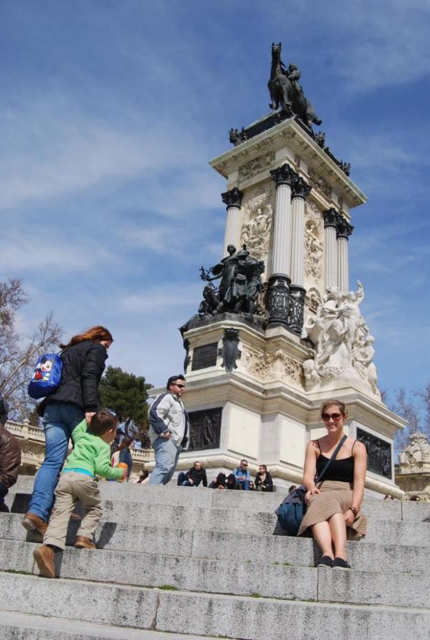 Lauren at Parque Retiro