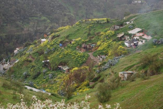 Caves near Sacramonte
