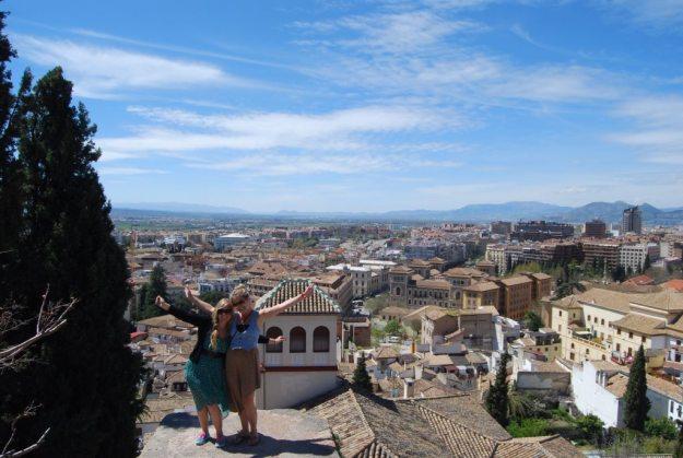 Feeling free in Granada!
