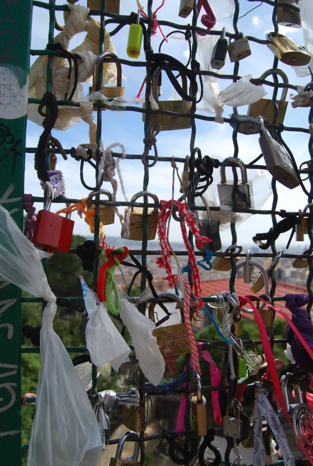 Locks at Parque Gulle