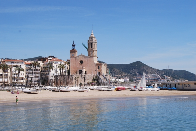 Cathedral in Sitges