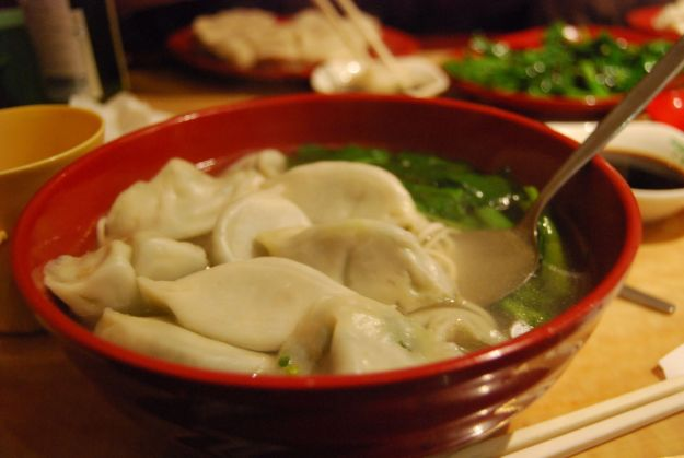 Cheap and delicious dumpling soup