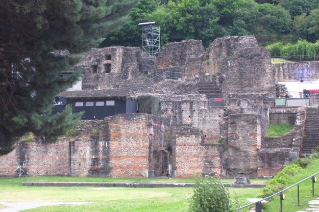 Ruins in Lyon