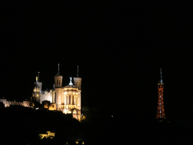 Basilica and mini Eiffel tower
