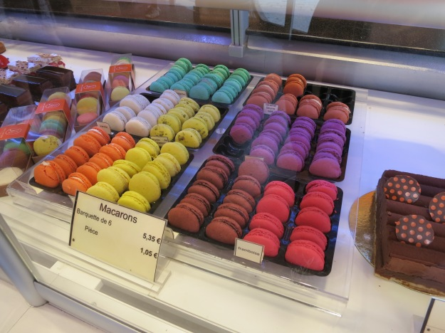 My pistachio macaroon addiction may have been enabled in this city.