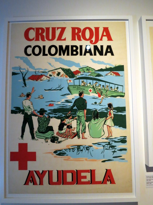 Colombian Safety Poster