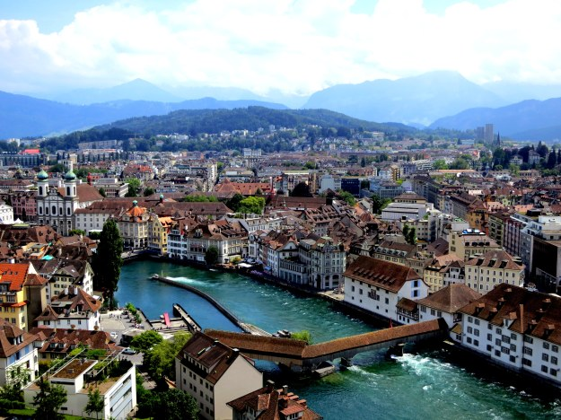 Beautiful city of Lucerne