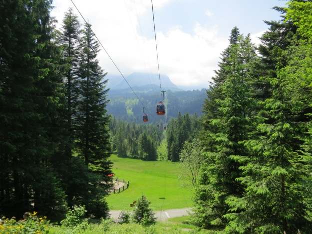 gondola ride switzerland