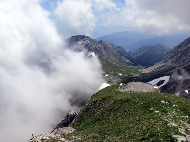 clouds in pilatus